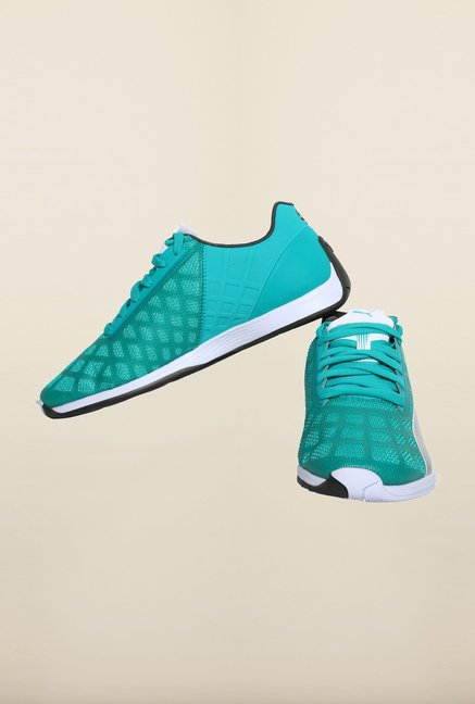 Puma Mercedes AMG Petronas Spectra Green & Silver Sneakers