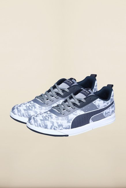 Puma Red Bull Grey & White Sneakers
