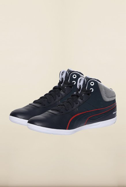 Puma BMW Team Navy & Heather Grey Sneakers