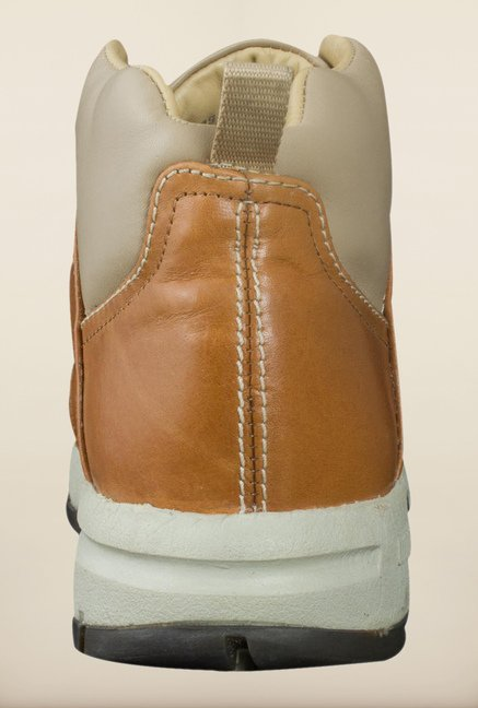 Woodland Tan Ankle High Boots