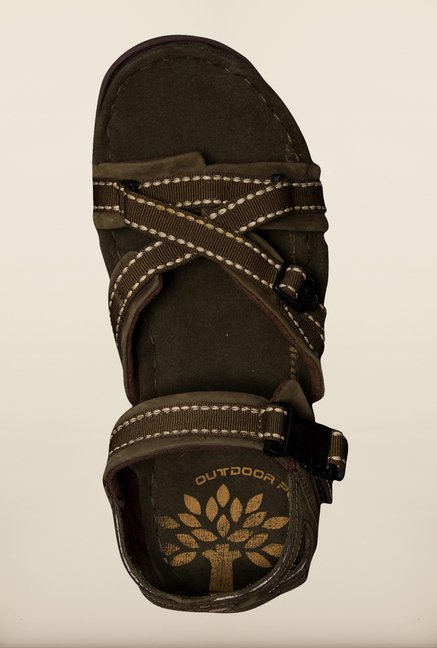 Woodland Olive Floater Sandals