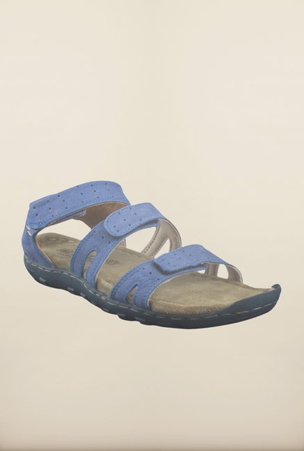 Woodland Blue Floater Sandals