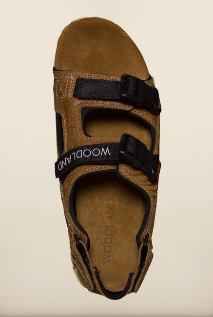 Woodland Brown Back Strap Sandals