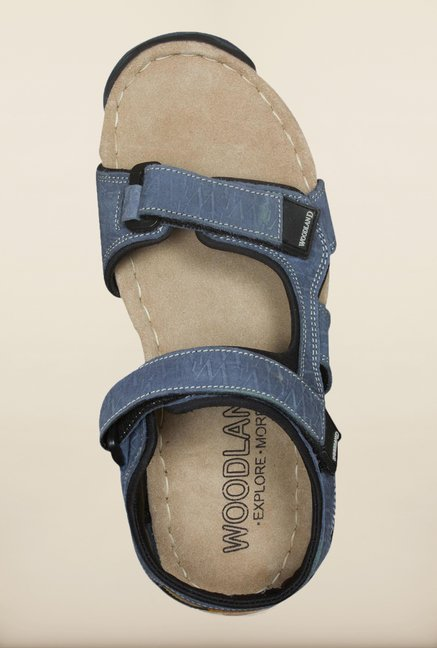 Woodland Denim Floater Sandals