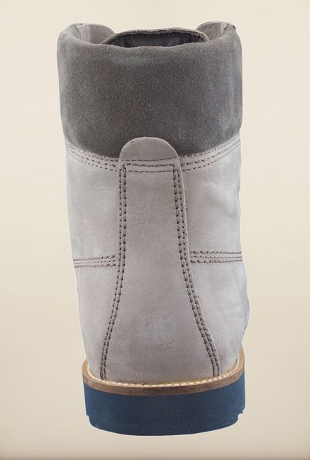 Woodland Grey Ankle High Boots
