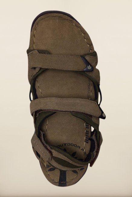 Woodland Khaki Floater Sandals