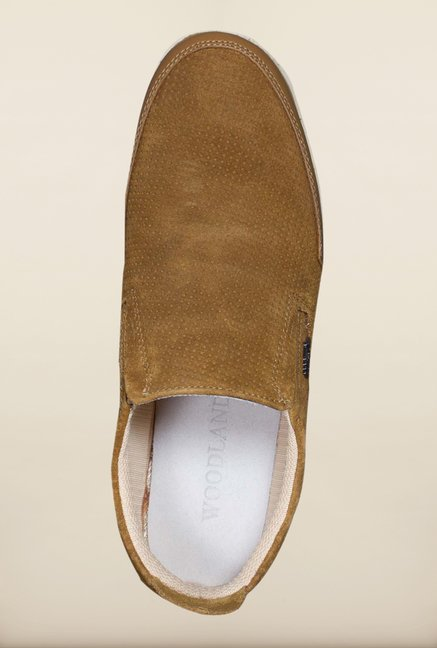 Woodland Camel Loafers