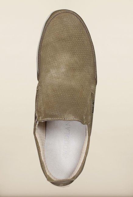 Woodland Khaki Loafers