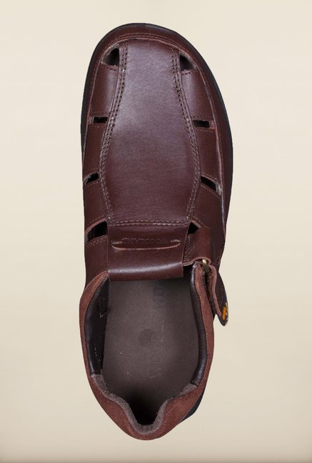 Woodland Burgundy Fisherman Sandals