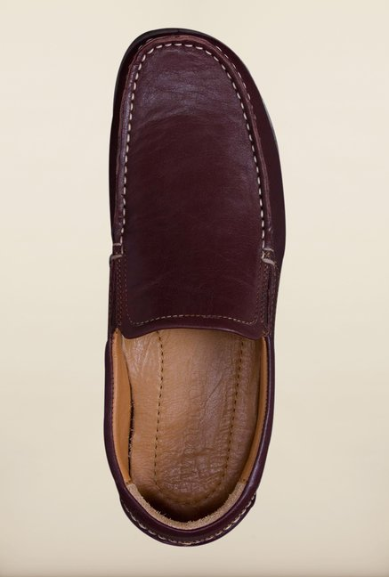 Woodland Dark Brown Loafers