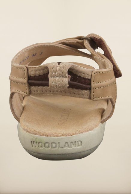 Woodland Beige Floater Sandals