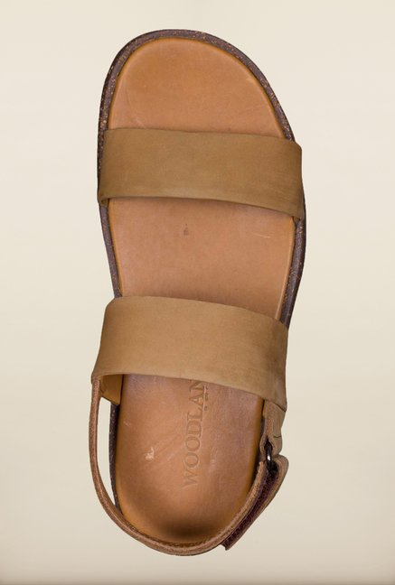 Woodland Copper Back Strap Sandals
