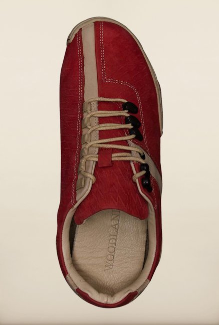 Woodland Red Sneakers