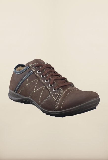 Woodland Dark Brown Sneakers