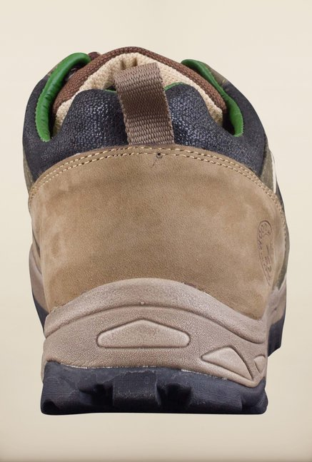 Woodland Olive Green Casual Shoes