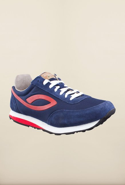 Woodland Navy Casual Shoes