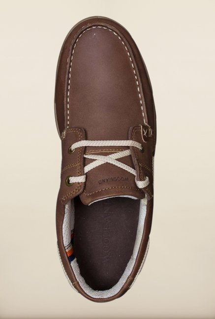 Woodland Brown Boat Shoes