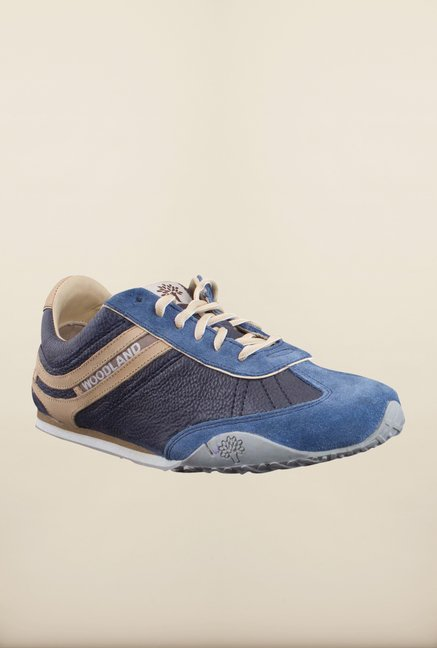 Woodland Navy & Blue Sneakers