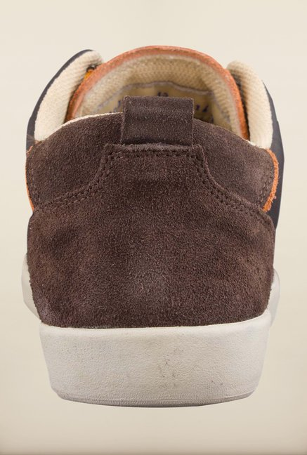 Woodland Dark Brown Casual Shoes