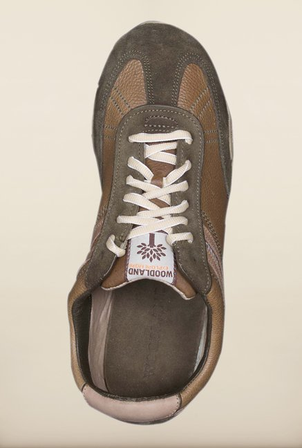 Woodland Olive Green Sneakers