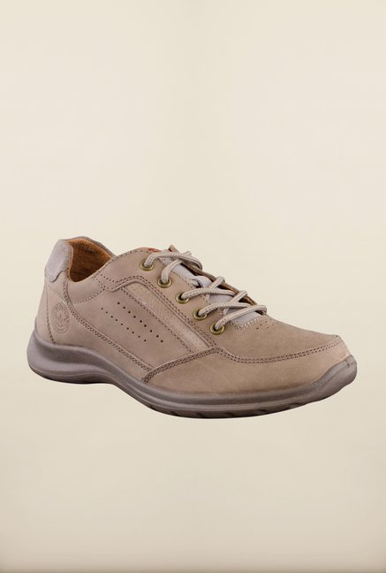 Woodland Khaki Casual Shoes