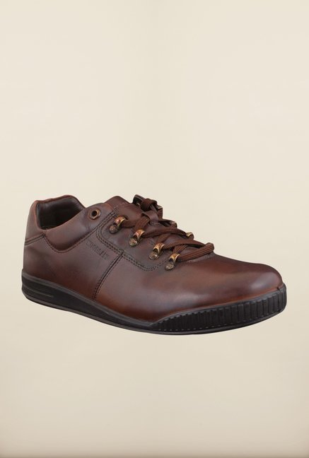 Woodland Black Casual Shoes