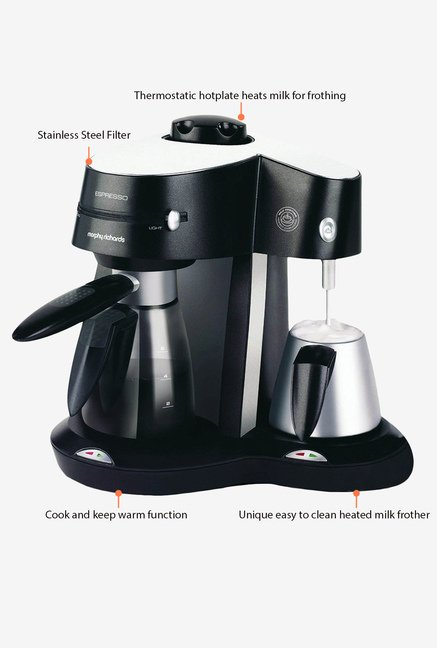 Morphy Richards Rico Coffee Maker Black