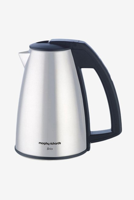 Morphy Richards 1 L Brio Electric Kettle Silver