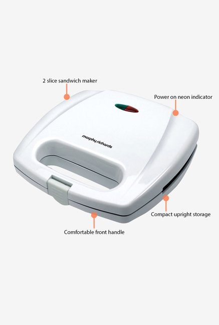 Morphy Richards SM3001 Sandwich Maker White
