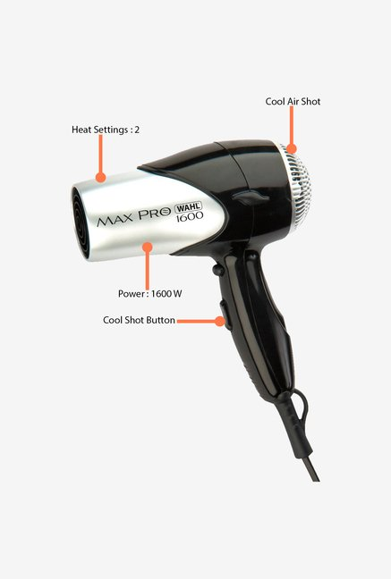 Wahl 05050-024 Max Pro Hair Dryer