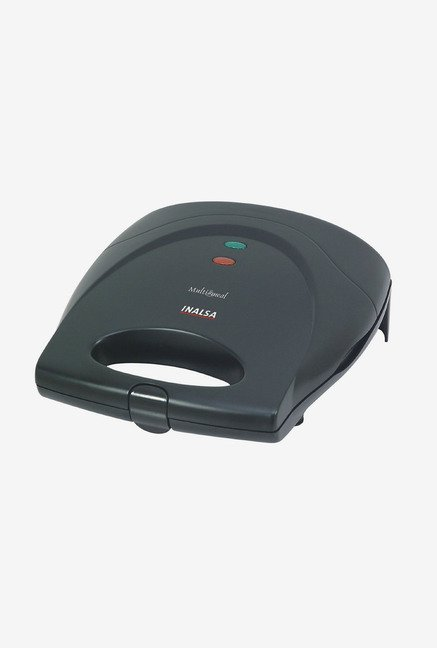 Inalsa Multimeal 750 Watt Multi Grill Toaster Black