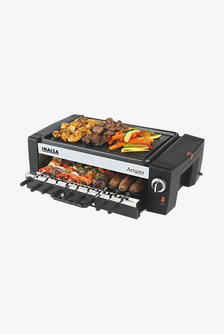 Inalsa Arizona Electric Griller Black