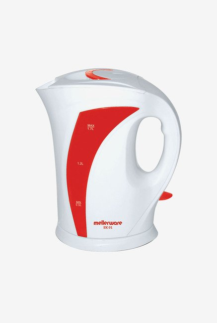 Mellerware EK 01 1.7 Ltr Electric Kettle White & Red