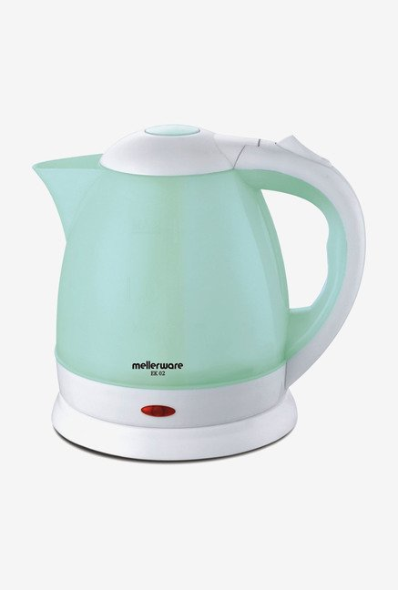 Mellerware EK 02 1.5 Ltr Electric Kettle White & Light Green
