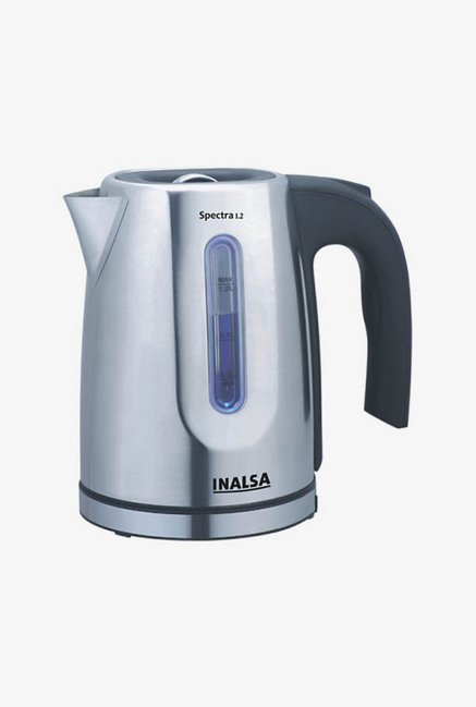 Inalsa Spectra 1.2 Ltr Electric Kettle Black & Sliver