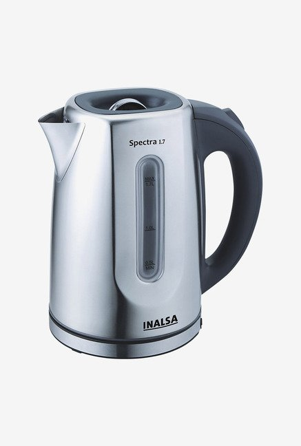 Inalsa Spectra 1.7 Ltr Electric Kettle Black & Sliver