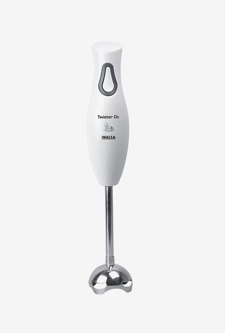 Inalsa 250W Twister DX Hand Blender White & Grey