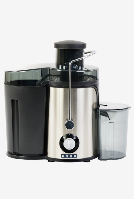 Usha 3240 400 Watt Stainless Steel Juicer Black