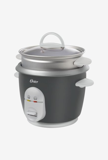 Oster CKSTRC4722-049 1 L Rice Cooker With Steam Tray Grey