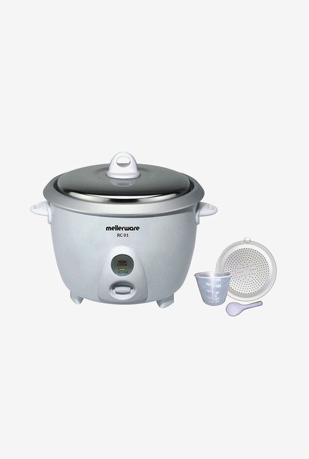 Mellerware RC 01 1.8Ltr Rice Cooker White