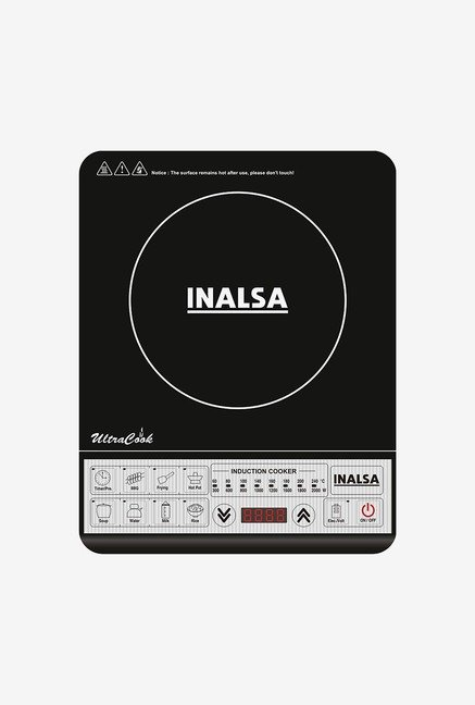 Inalsa Ultra Cook 2000 Watts Cooktop Black
