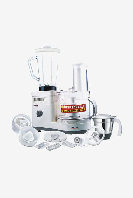 Inalsa Maxie Classic Food Processor with 1.5L Blender Jar