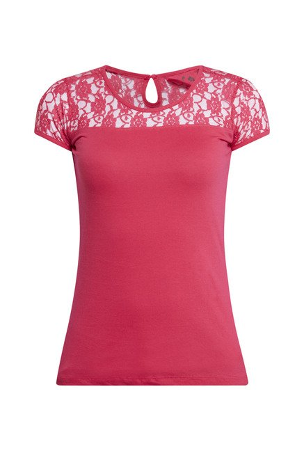 Zudio Fuchsia Solid Top