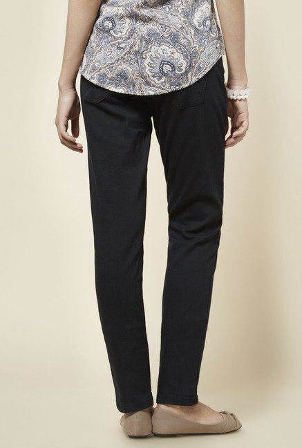 Zudio Black Denim Jeans