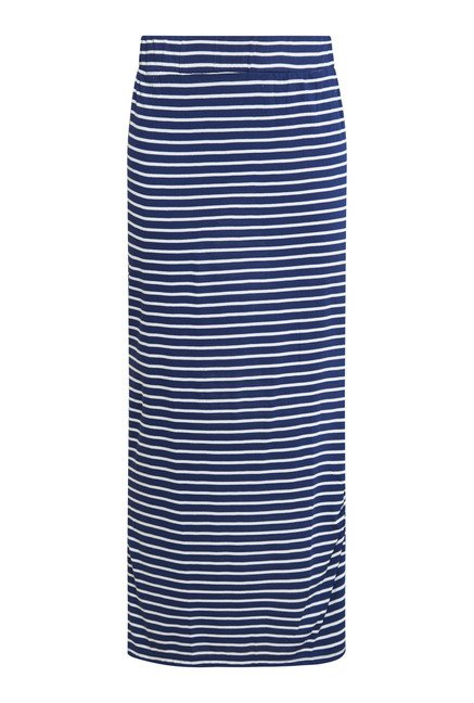 Buy Zudio Navy Stripes Maxi Skirt Online at best price at TataCLiQ
