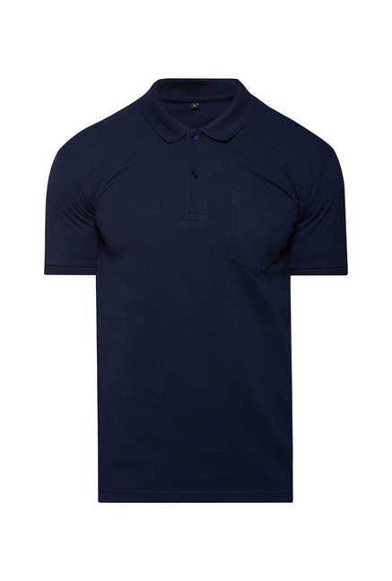 Zudio Navy Solid Polo T Shirt