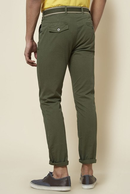 Zudio Olive Cotton Chinos