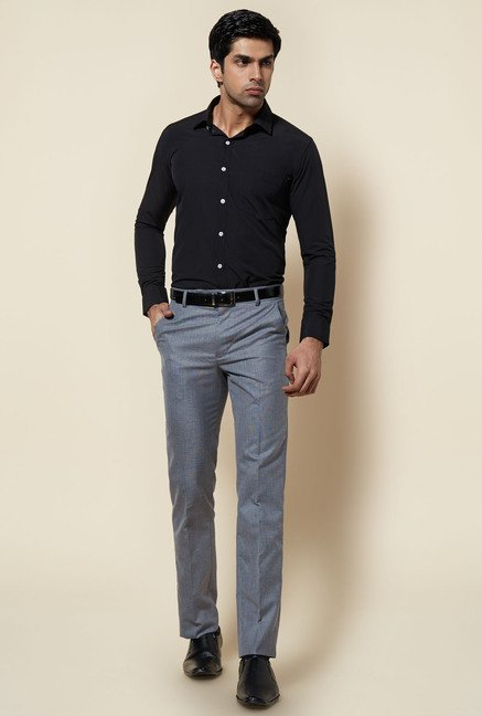 Zudio Black Solid Shirt
