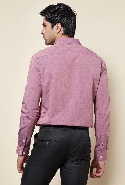 Zudio Red Solid Shirt
