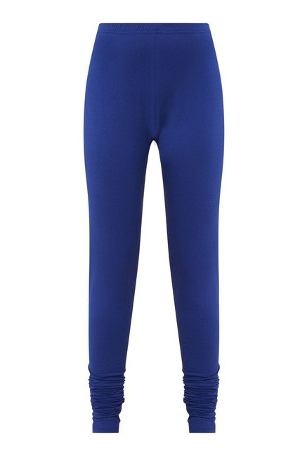 Zudio Blue Solid Leggings